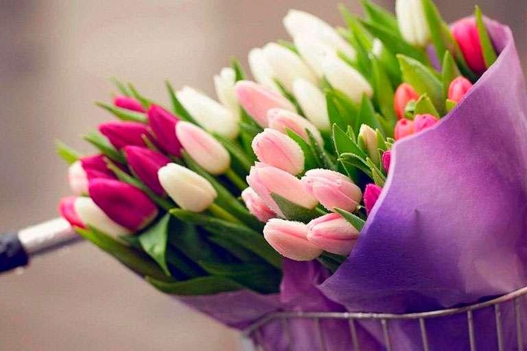С нежным праздником — Днем 8 марта!