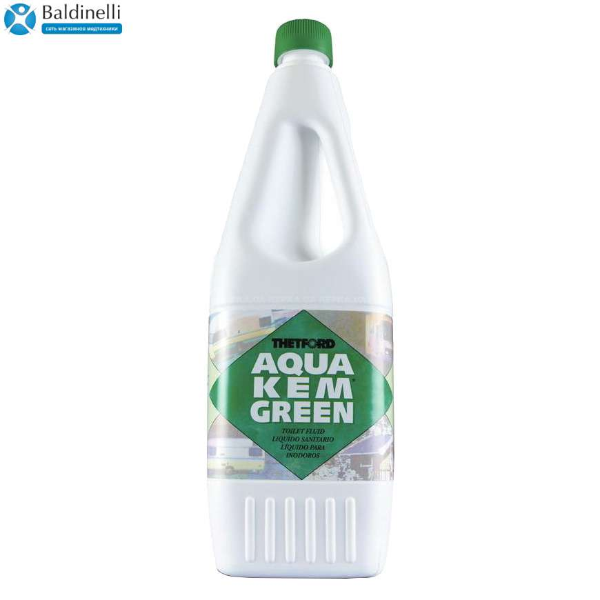 Жидкость для биотуалета Aqua Kem Green 1,5 л