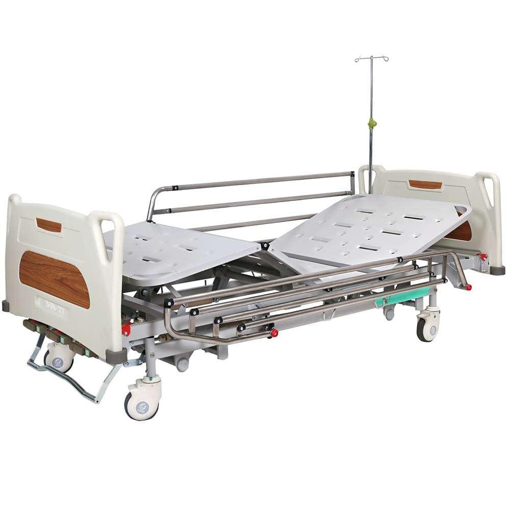 Медицинская кровать с регулировкой высоты (4 секции) OSD-9017