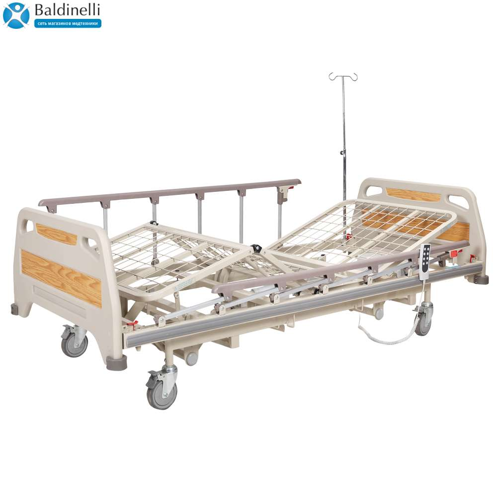 Медицинская кровать для больниц с электроприводом (4 секции) OSD-91EU