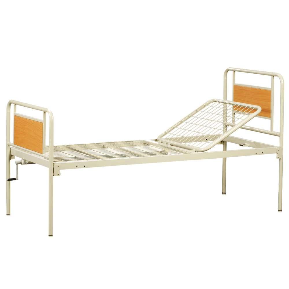 Уценка: Медицинская металлическая кровать (2 секции) OSD-93V