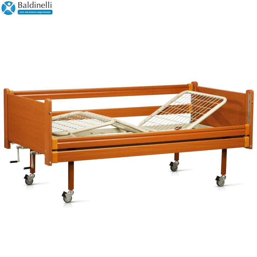 Медицинская кровать на колесах (4 секции) OSD-94