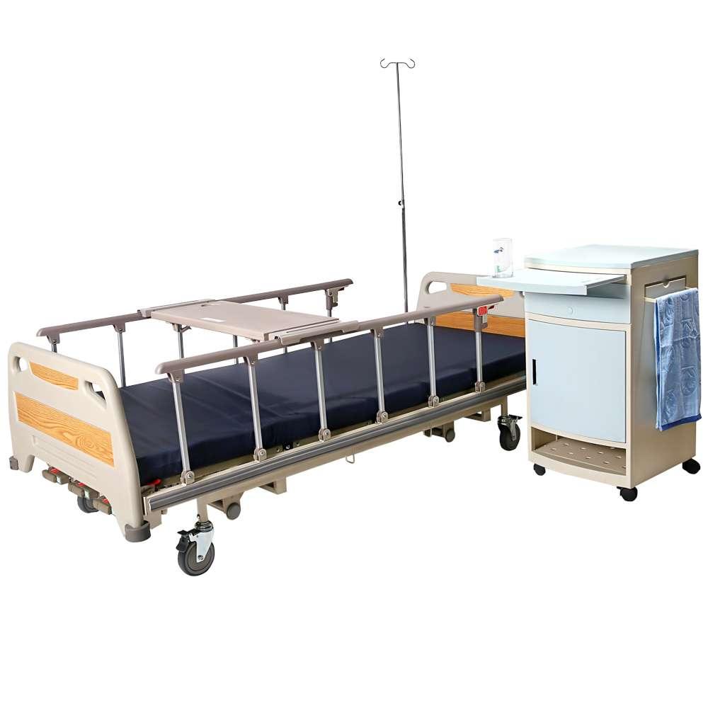 Медицинская кровать для больниц с регулировкой высоты (4 секции), OSD-94U