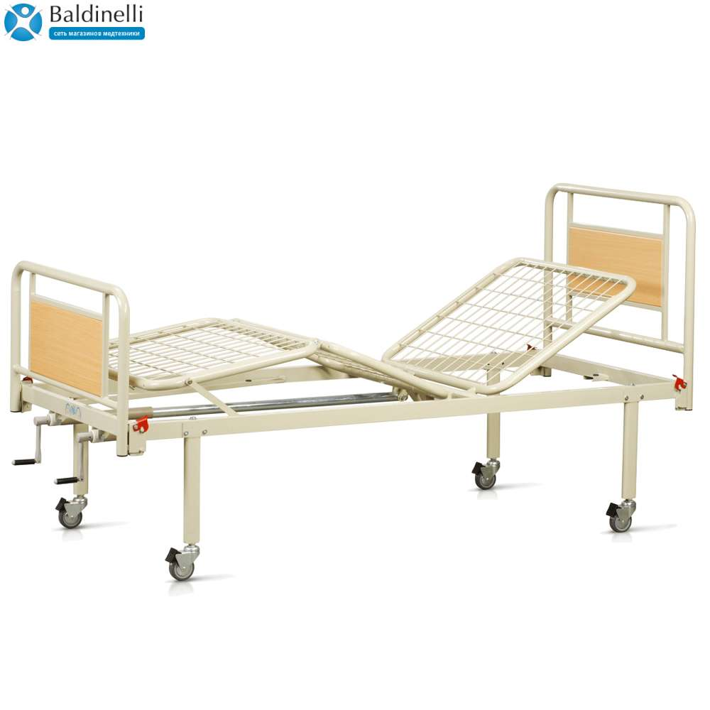Медицинская кровать на колесах OSD-94V+OSD-90V
