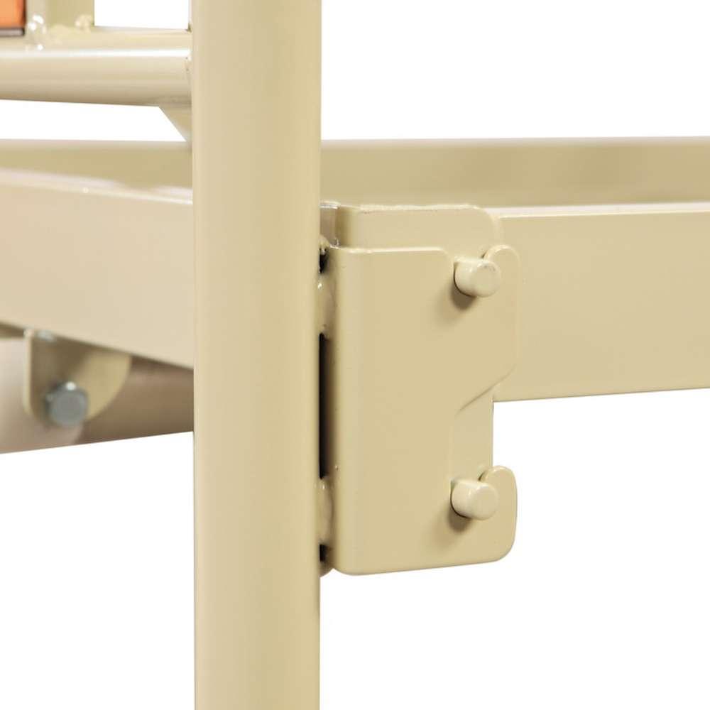 Медицинская металлическая кровать (4 секции), OSD-94V