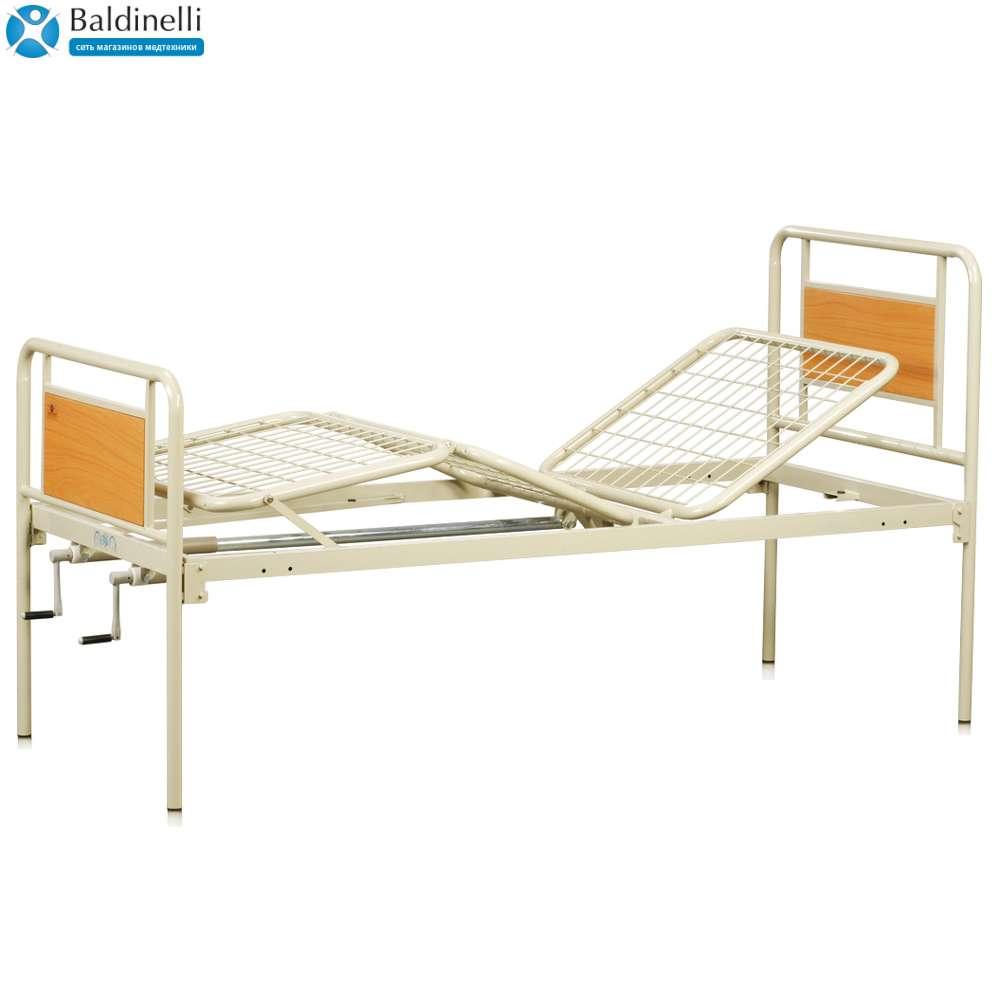 Медицинская металлическая кровать (4 секции) OSD-94V