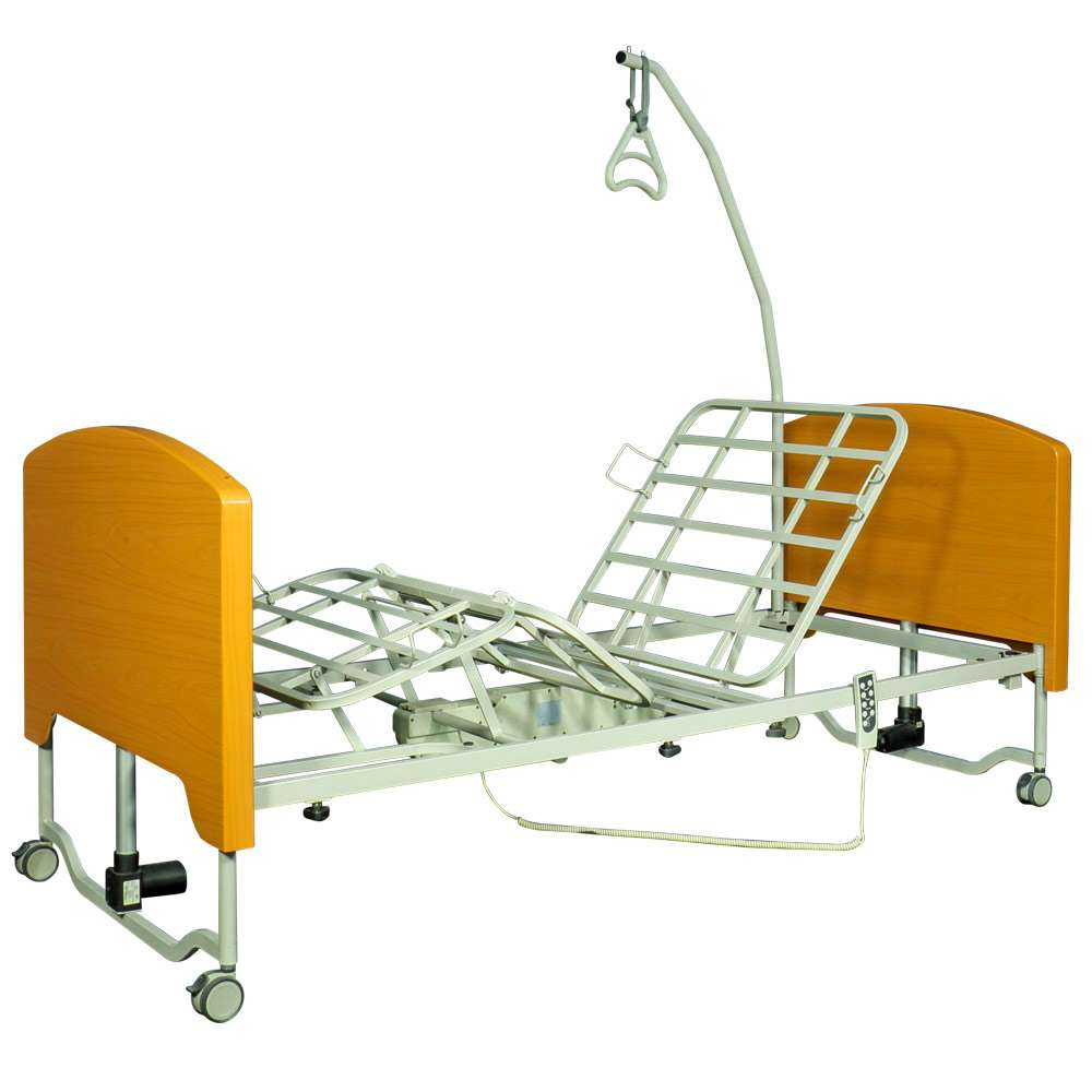 Кровать функциональная с электроприводом «Super low Rebecca» OSD-9555