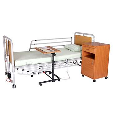 Функциональная кровать с усиленными поручнями (4 секции) OSD-9576