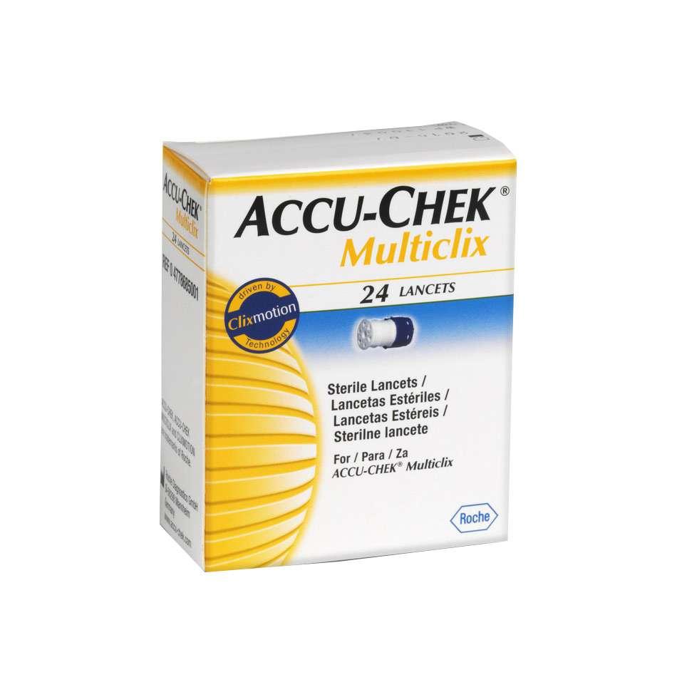 Ланцеты Accu-Chek Multiclix 24 штуки, ACL-2