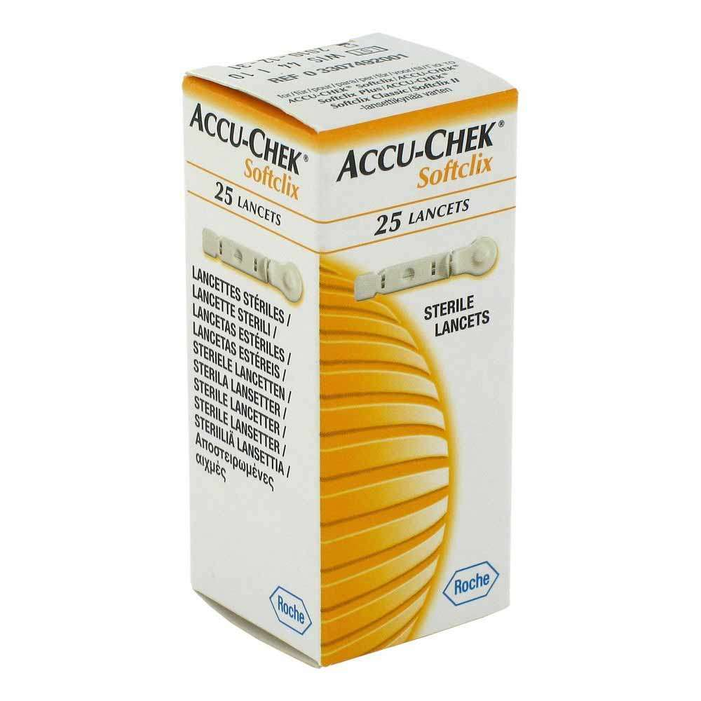 Ланцеты Accu-Chek Softclix 25 штук, ACL-4