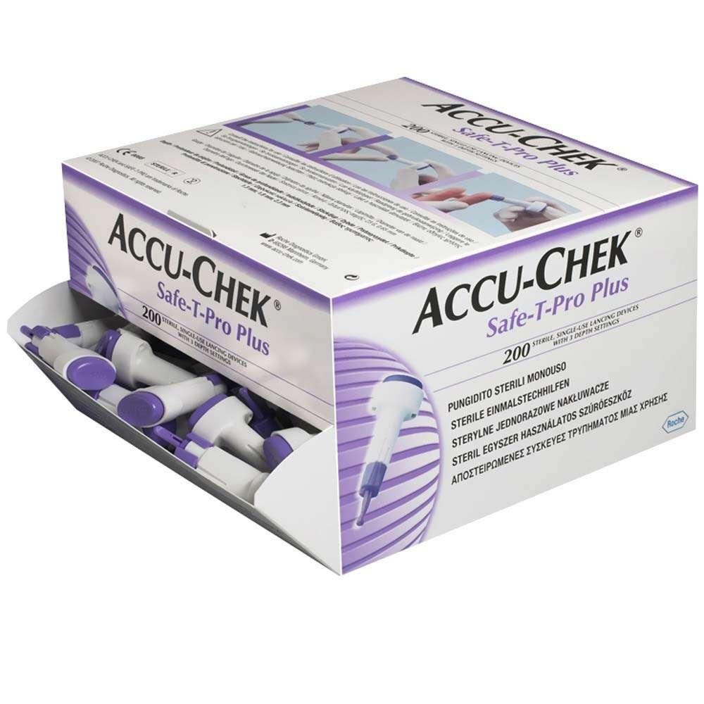 Ланцеты Accu-Chek Safe-T-Pro Plus, ACLS-1
