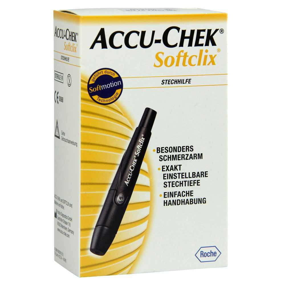 Ланцетное устройство Accu-Chek Softclix, ACLS-4