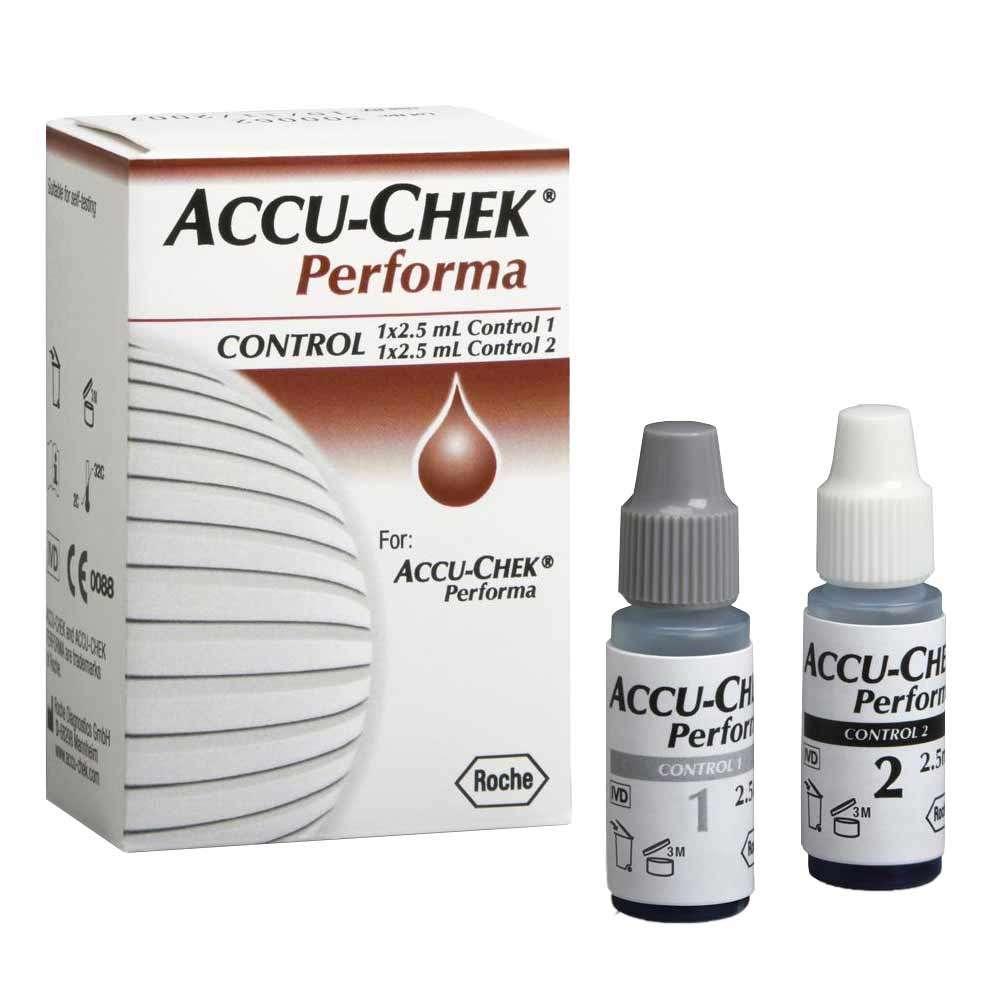 Контрольный раствор Accu-Chek Performa, ACR-2