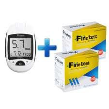 Глюкометр Finetest auto-coding Premium+100 тест-полосок, FT-003