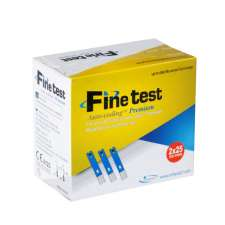 Тест-полоски Finetest Auto-coding Premium 50 штук, FT-004