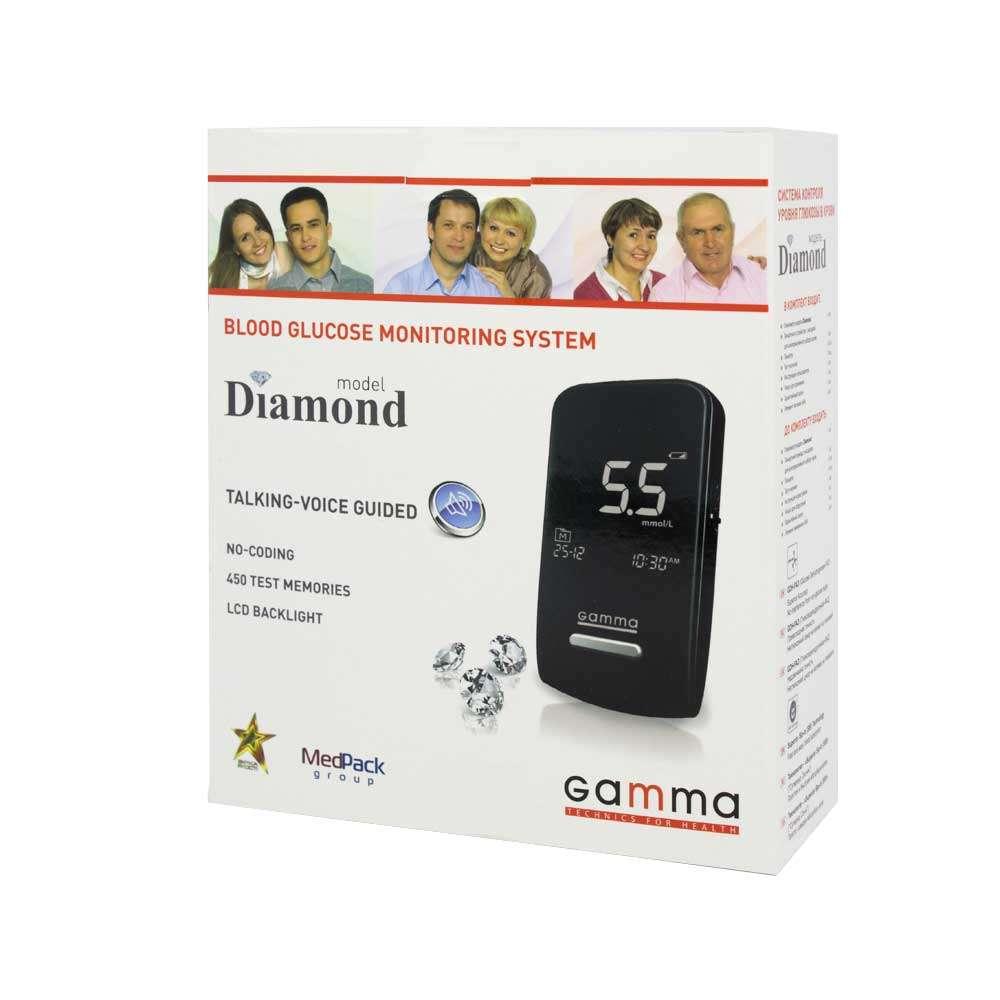 Глюкометр Gamma Diamond, GAMMA D