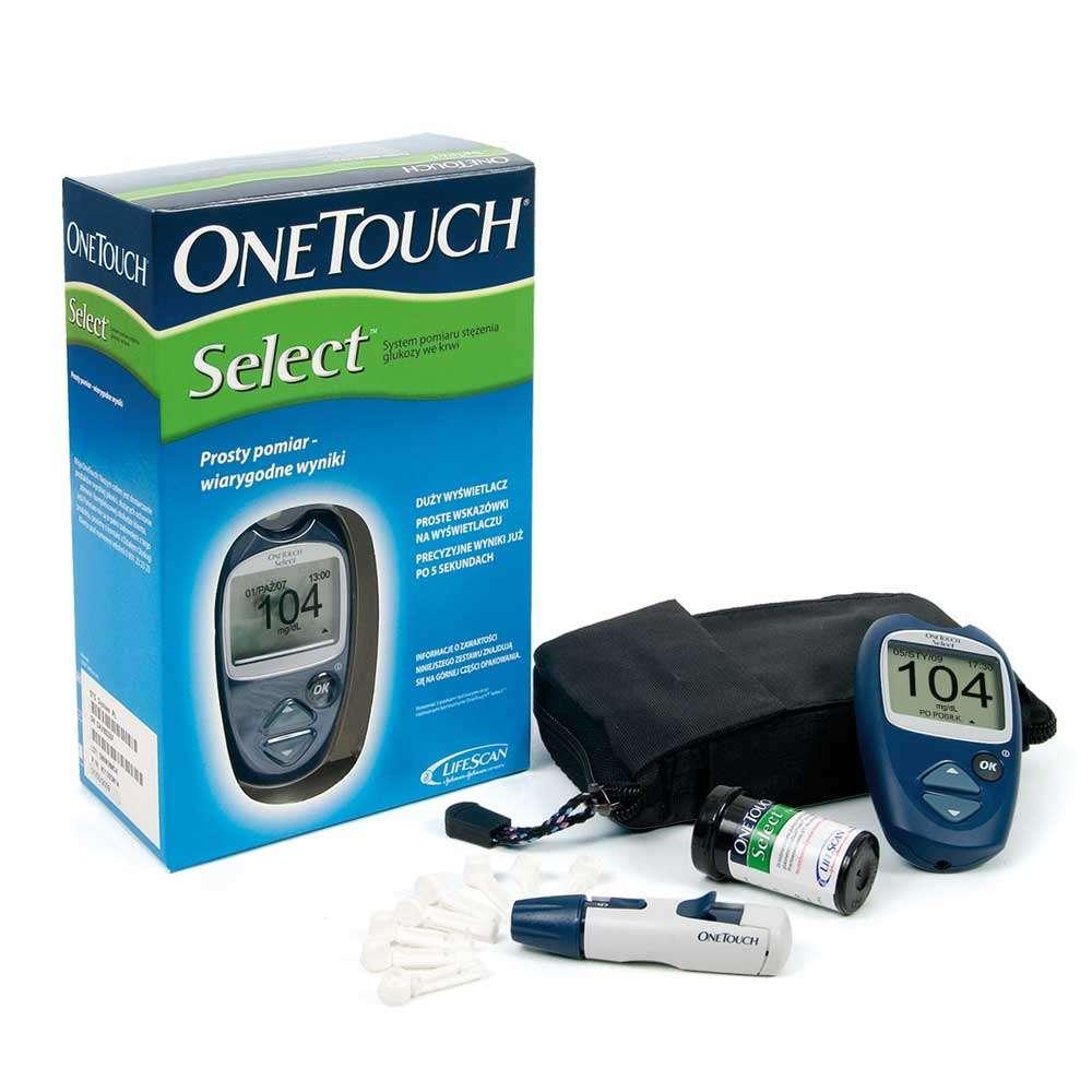 Глюкометр OneTouch Select, OT-2