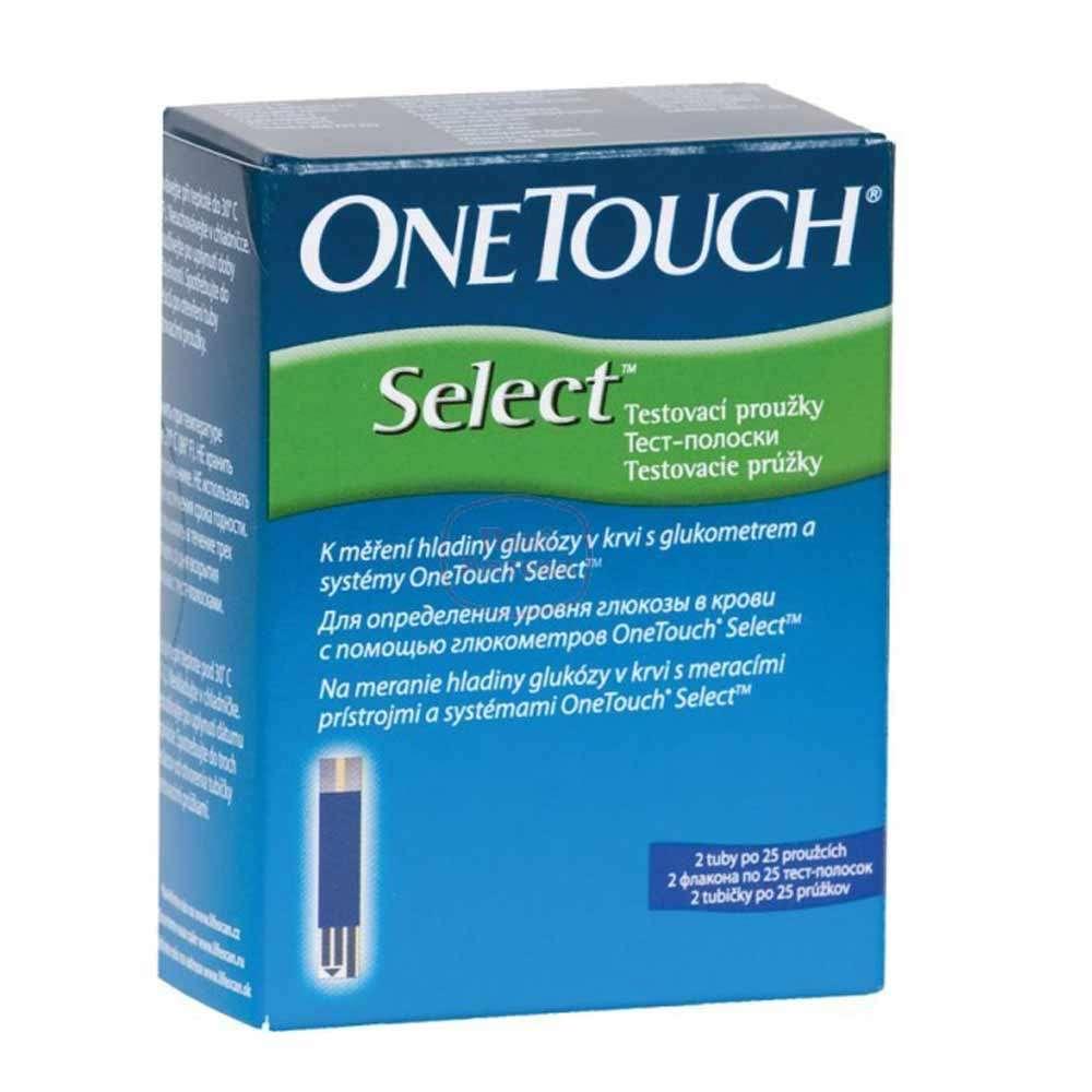 Тест-полоски OneTouch Select