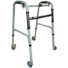 Ходунки-рамки шагающие на колесах Medok, MED-03-012
