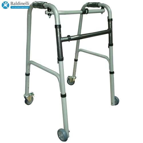 Ходунки-рамки шагающие на колесах Medok MED-03-012