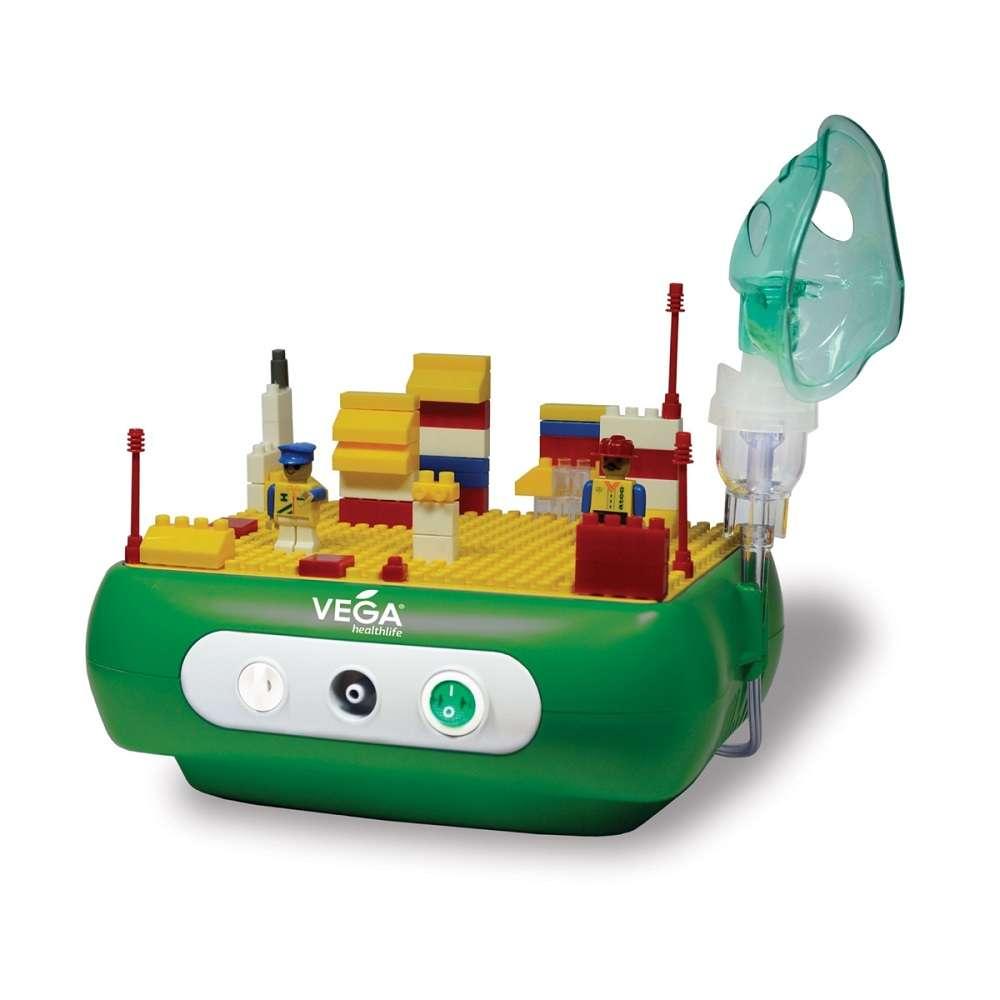 Компрессорный ингалятор Vega «Kids» CN03D с конструктором Лего