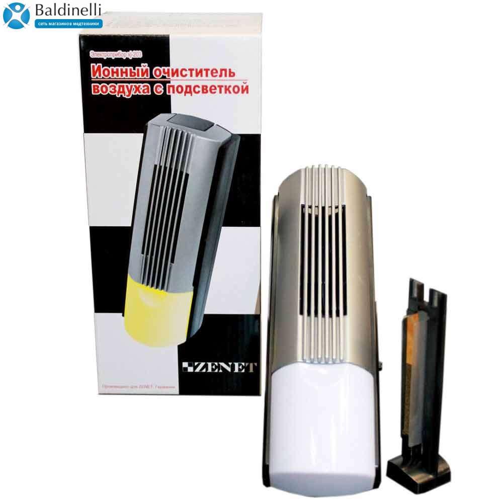 Ионизатор-очиститель воздуха ZENET XJ-203