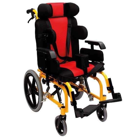 Механическая инвалидная коляска для детей с ДЦП, Golfi-16с