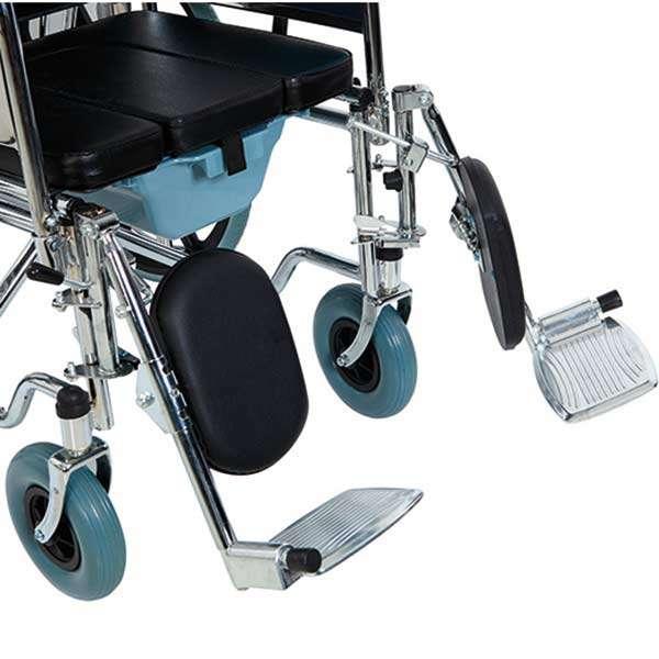 Многофункциональная инвалидная коляска с санитарным оснащением, Golfi-4