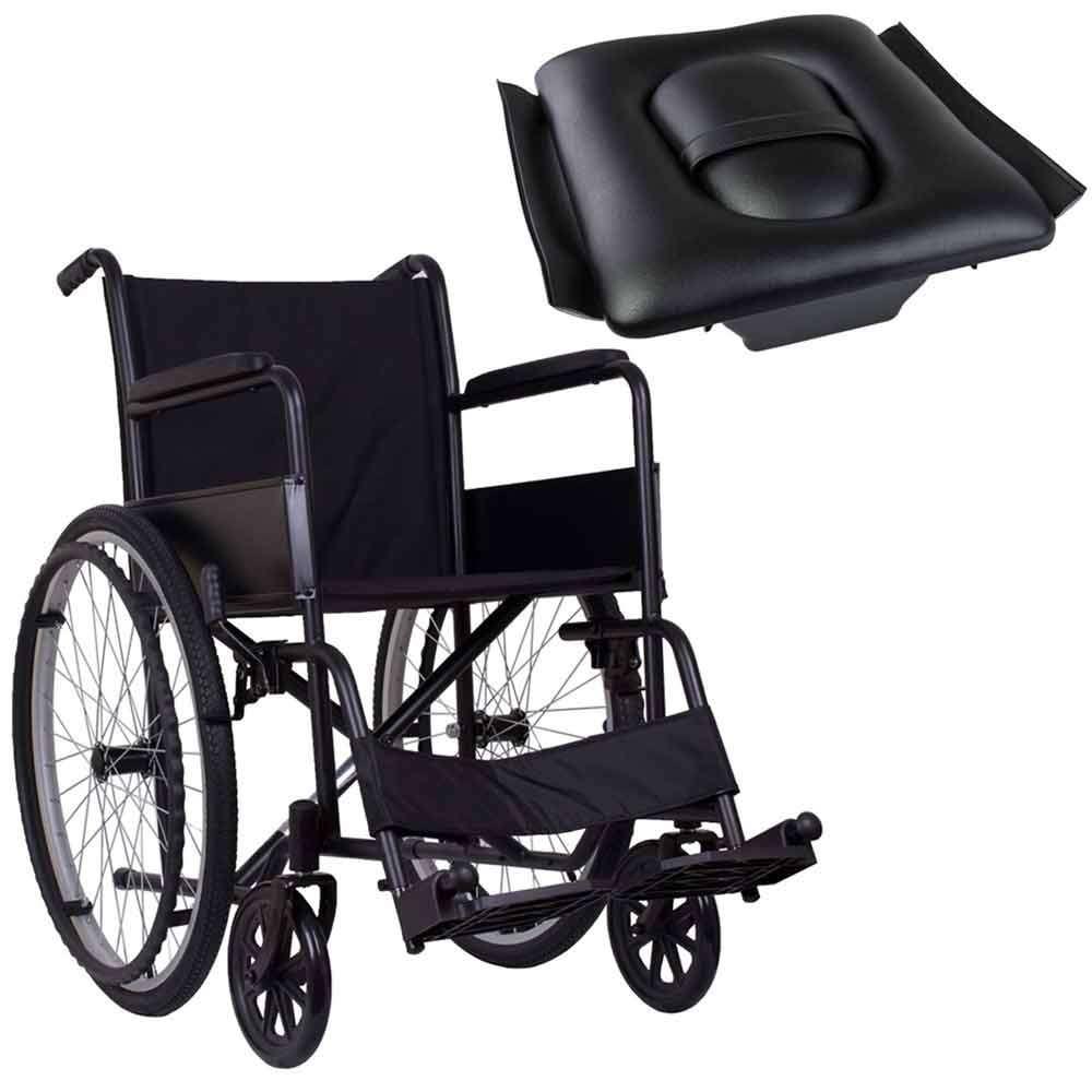 Стандартная инвалидная коляска, OSD Economy1 на надувных колесах с санитарным оснащением