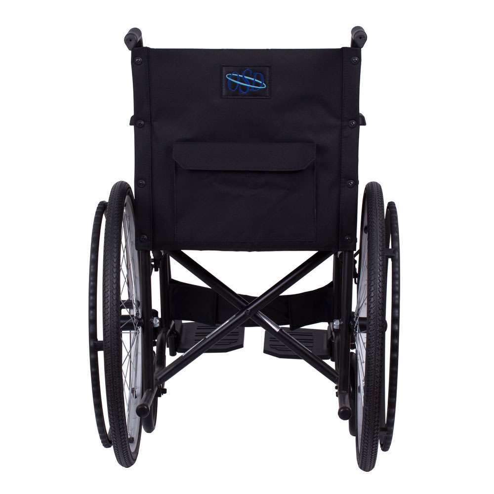 Стандартная инвалидная коляска OSD Economy на надувных колесах с санитарным оснащением