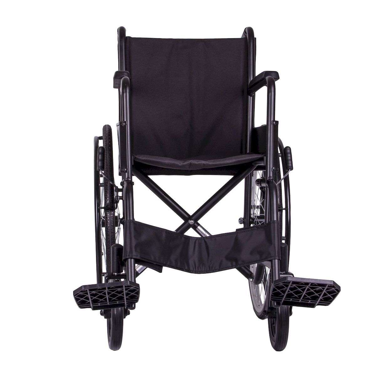 Стандартная инвалидная коляска OSD Economy1 на литых колесах с санитарным оснащением