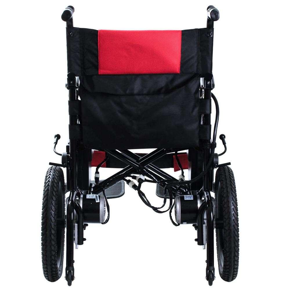 Складная инвалидная коляска с электромотором OSD-LY5213