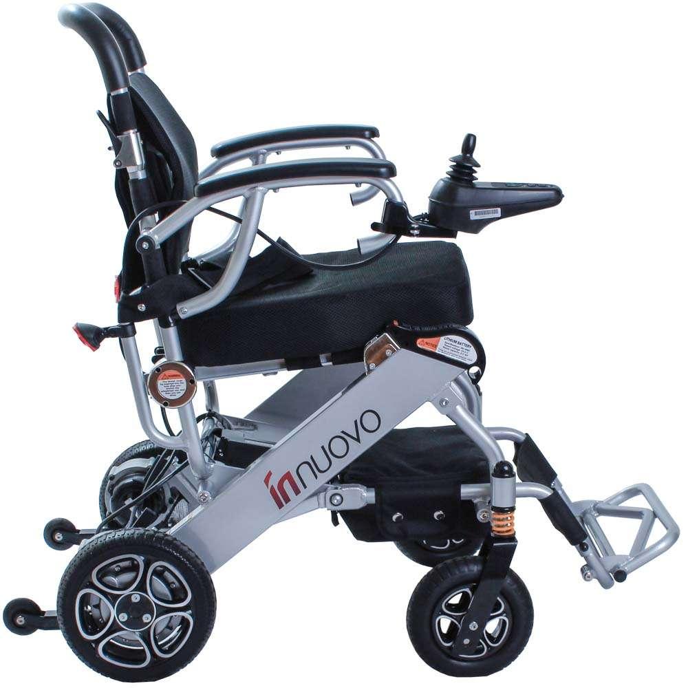 Складная инвалидная коляска с электромотором OSD-LY5513