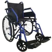 Уценка: Стандартная инвалидная коляска (синяя) OSD-ST-**-Ucenka