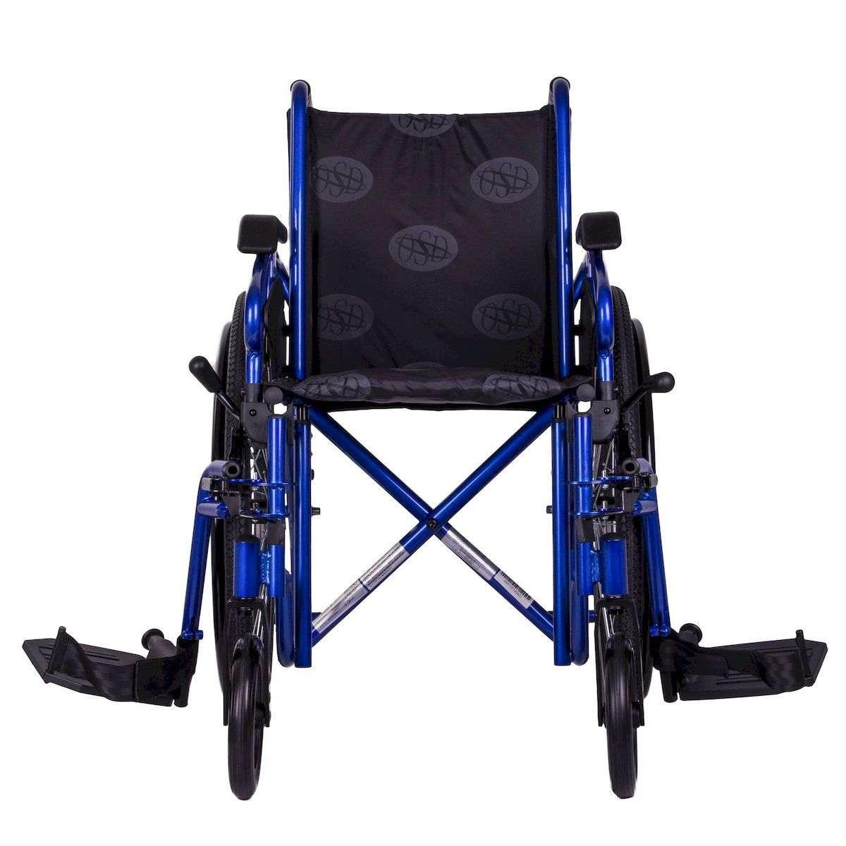 Стандартная инвалидная коляска OSD Millenium 4 Blue