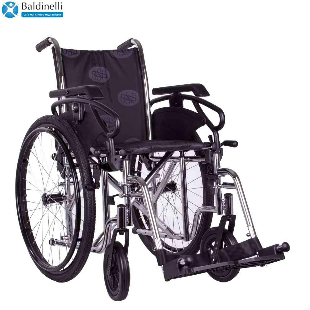 Стандартная инвалидная коляска, OSD Millenium 3 Grey