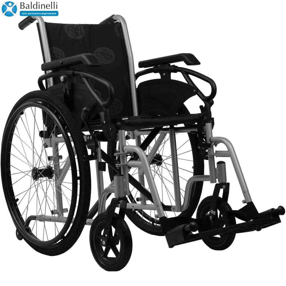 Стандартная инвалидная коляска, OSD Millenium 4 Grey
