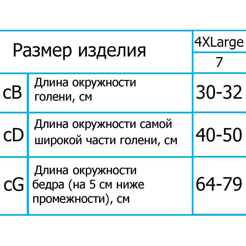 Колготки компрессионные ІІІ уровень компрессии с открытым носком, ARS06