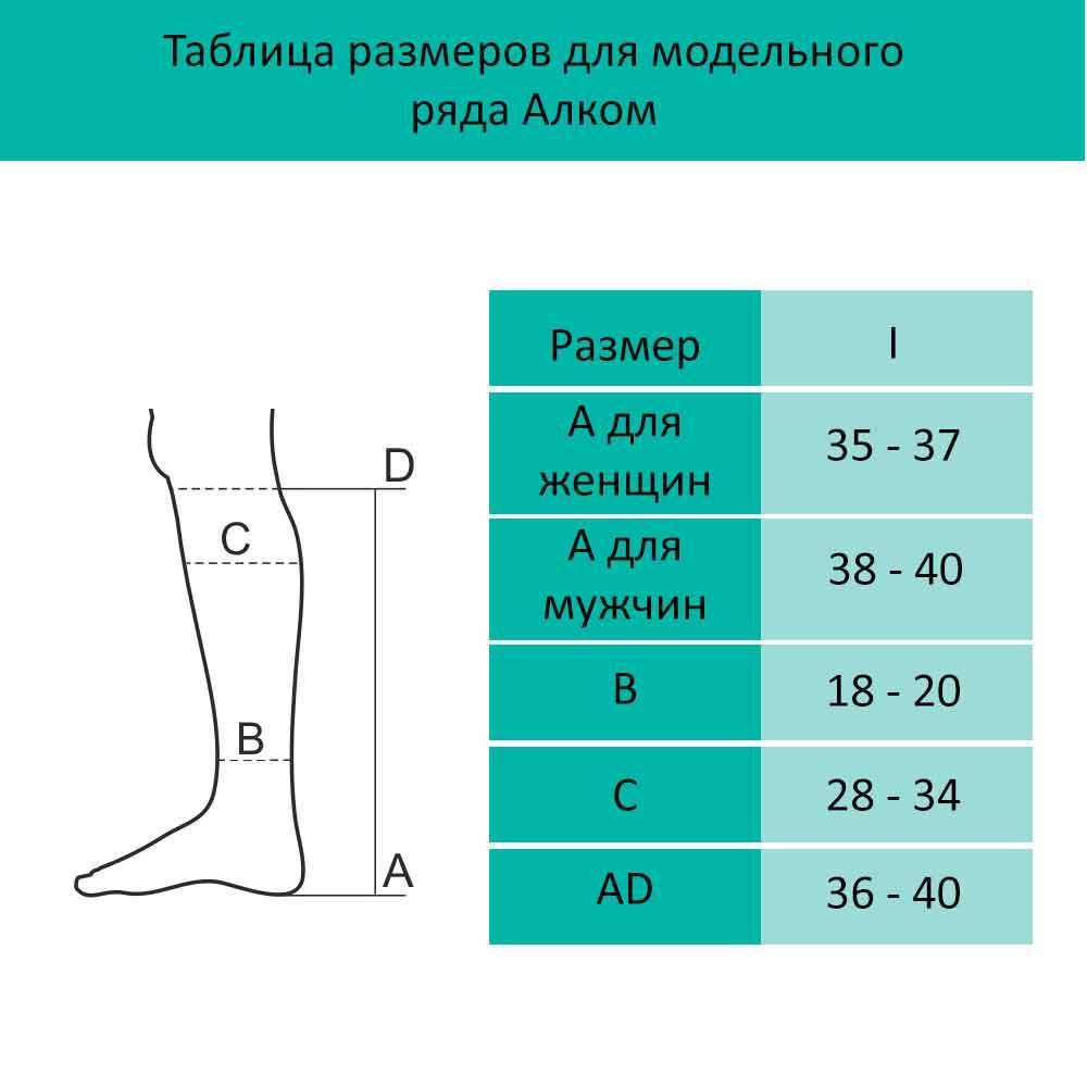 Гольфы женские компрессионные, 3 класс компрессии, 5013-O