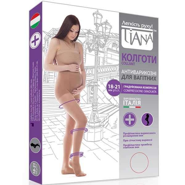 Колготки профилактические для беременных, Tiana 970-975