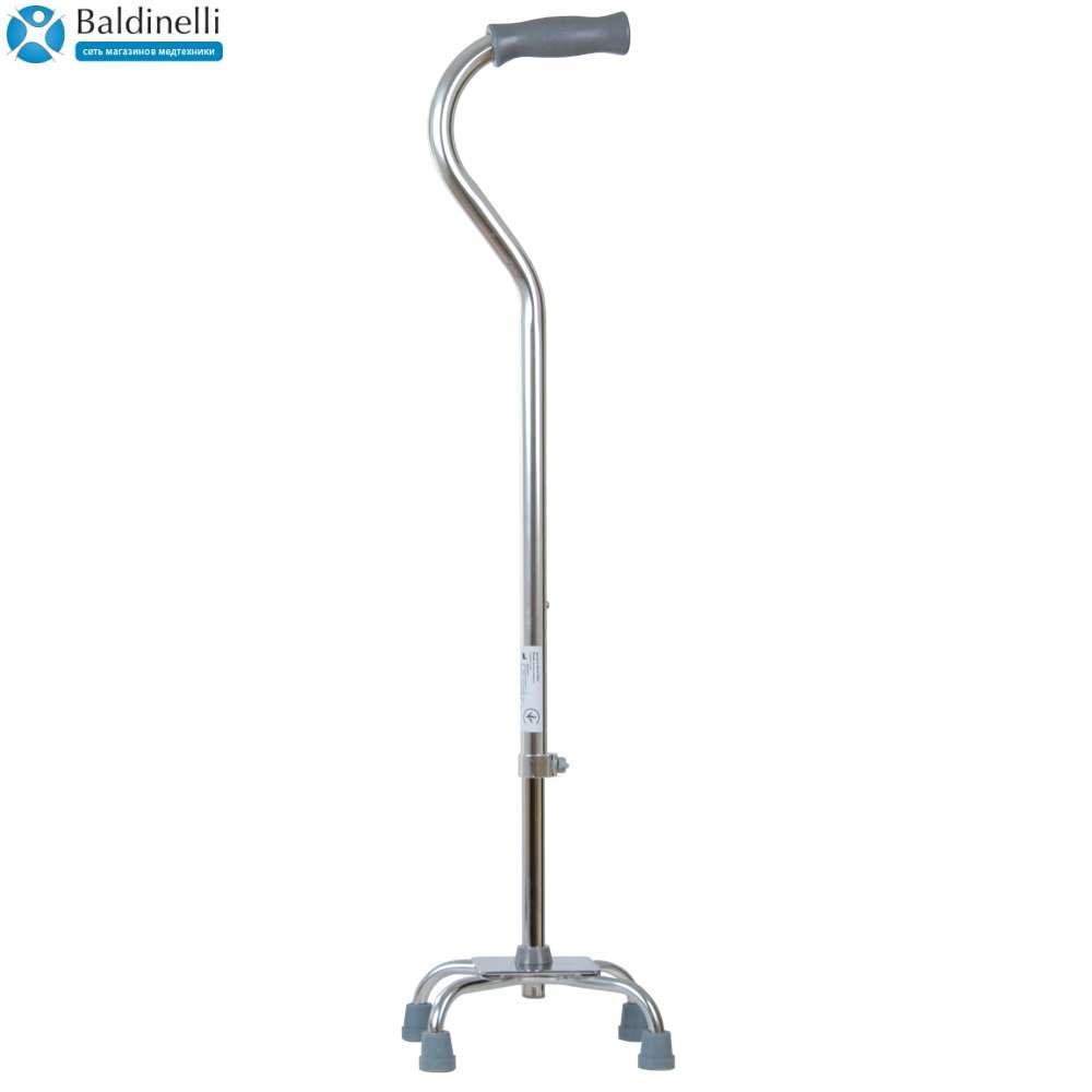 Алюминиевая трость-квадропод с малой базой, OSD-BL550101