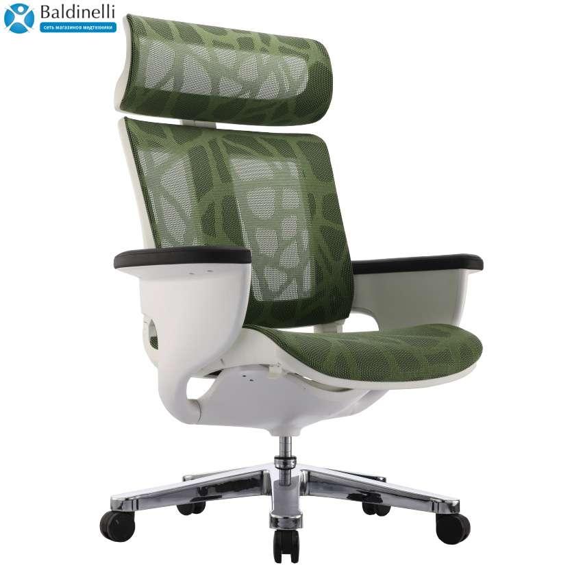 Кресло-реклайнер для офиса и дома, Nuvem Green Mesh