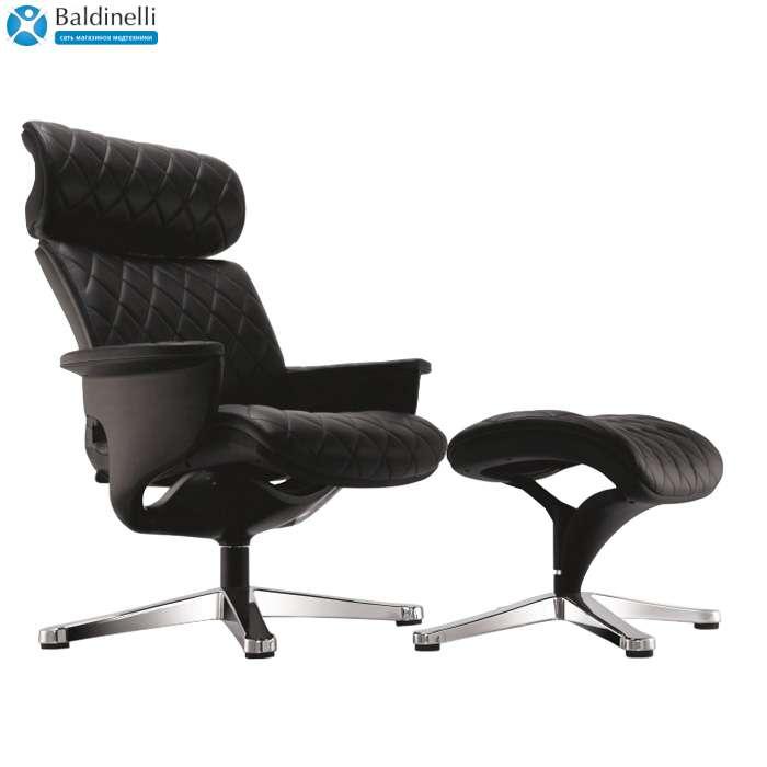 Кресло-реклайнер для дома, Nuvem Lounge Black