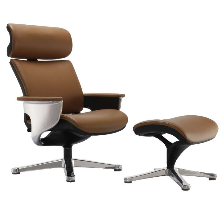 Кресло-реклайнер для дома, Nuvem Lounge Brown