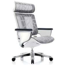Кресло-реклайнер для офиса и дома, Nuvem Silver Mesh