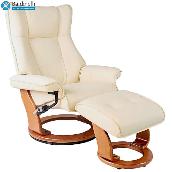 Кожаное кресло-реклайнер, Relax Melvery