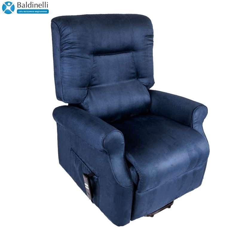 Кресло-реклайнер с одним электромотором Sirenella Blue
