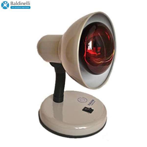 Тепловая инфракрасная лампа для прогрева, KVARTC-IK-KR-N-75