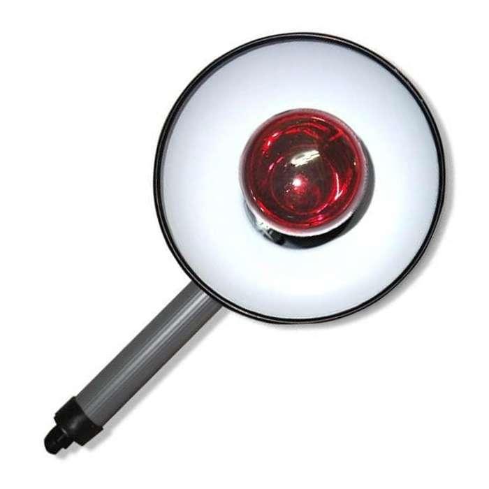 Тепловая инфракрасная лампа для прогрева, KVARTC-IK-KR-R-75