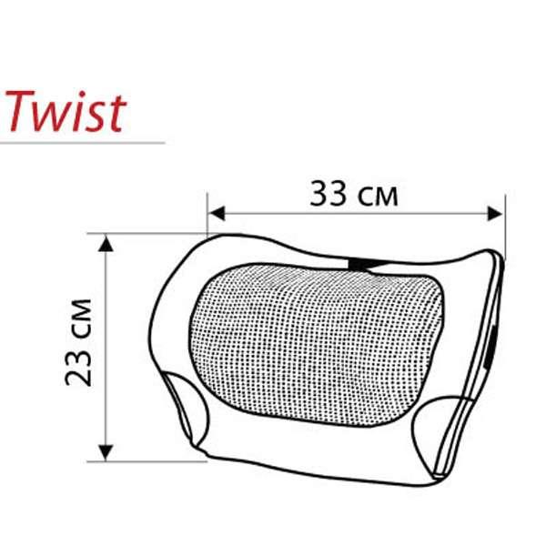 Массажная подушка Casada, Miniwell twist